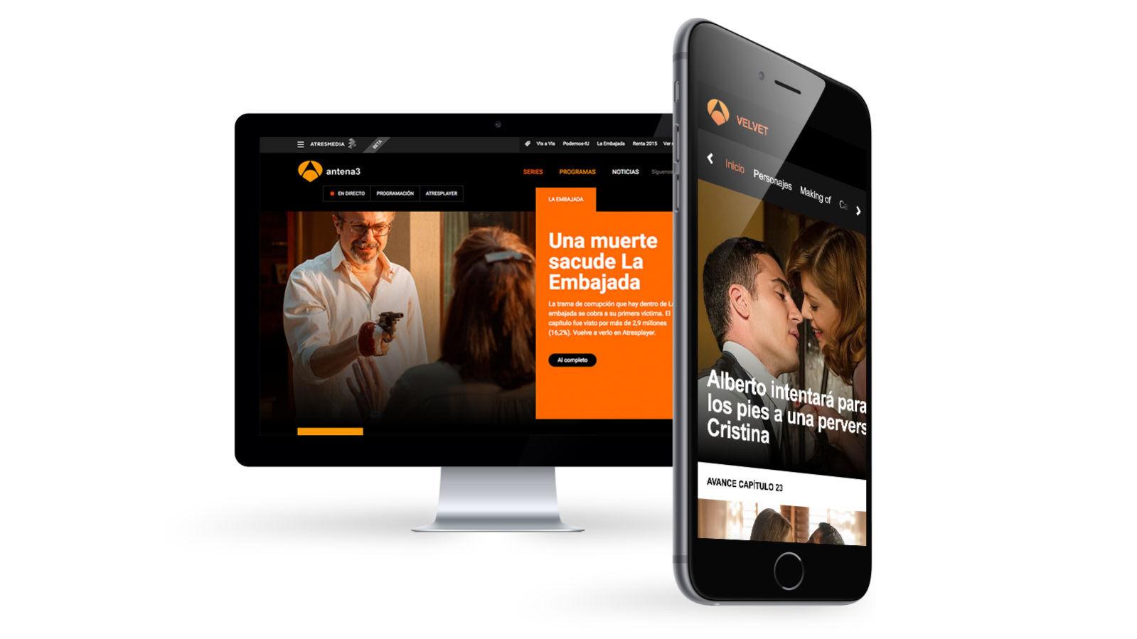 ATresMedia - Diseño