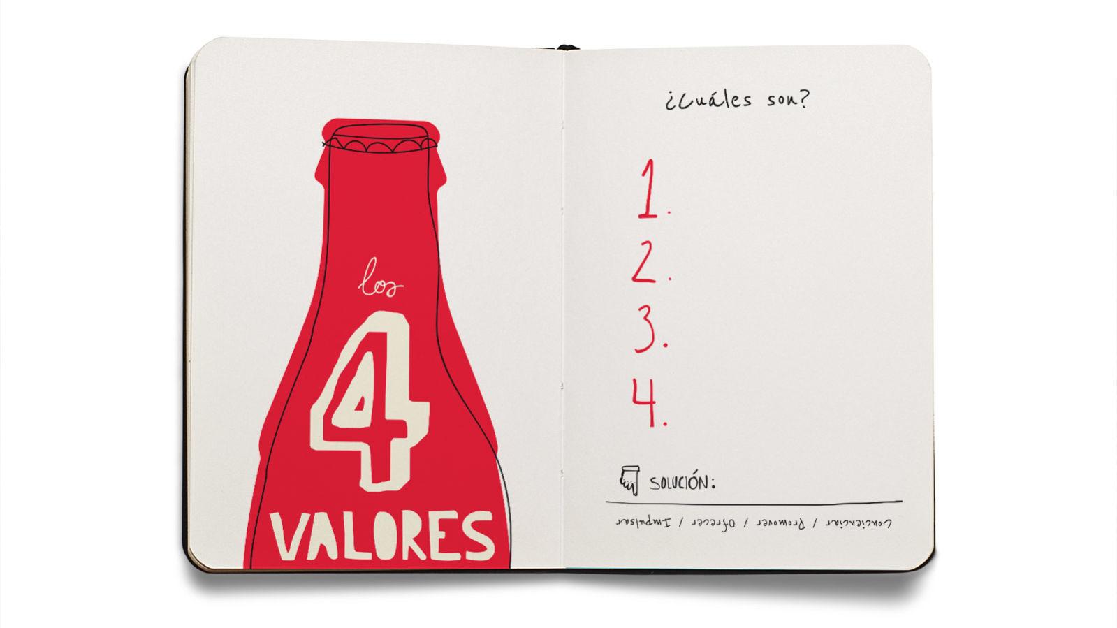 Coca-cola cuaderno